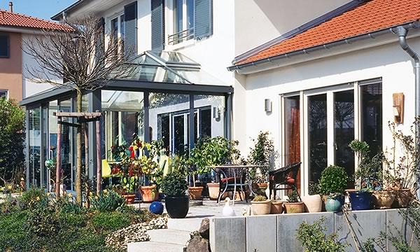 SCHÜCO Wintergarten