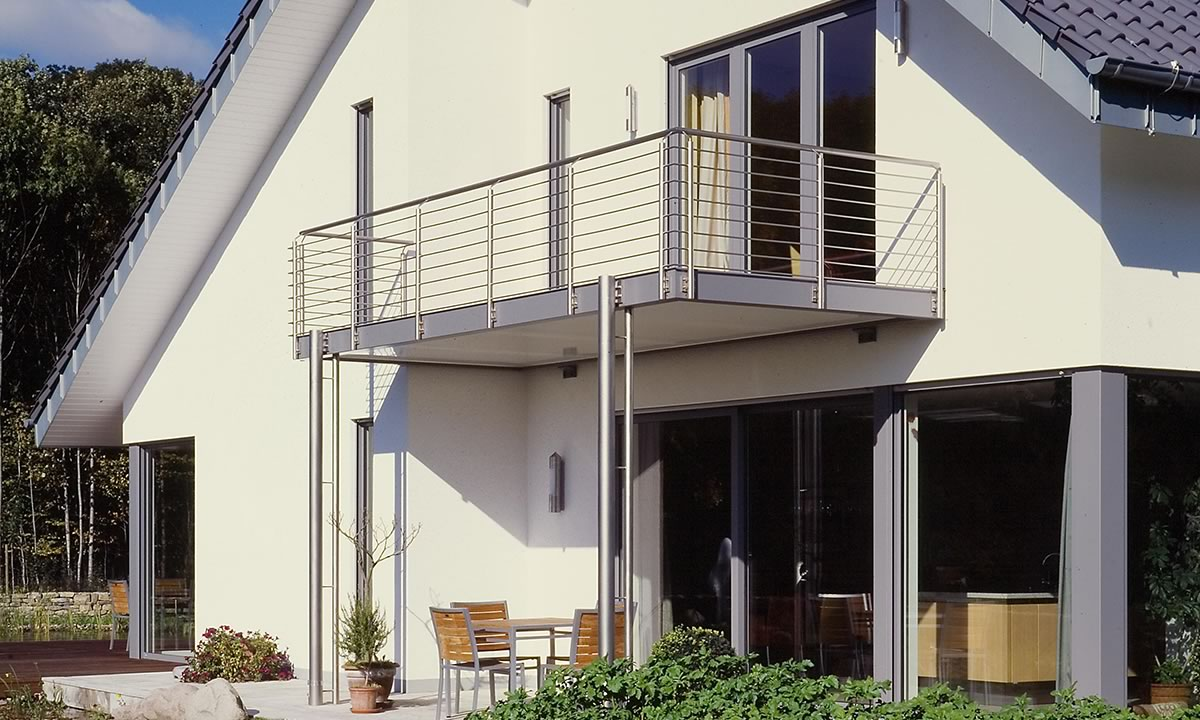 SCHÜCO Balkon