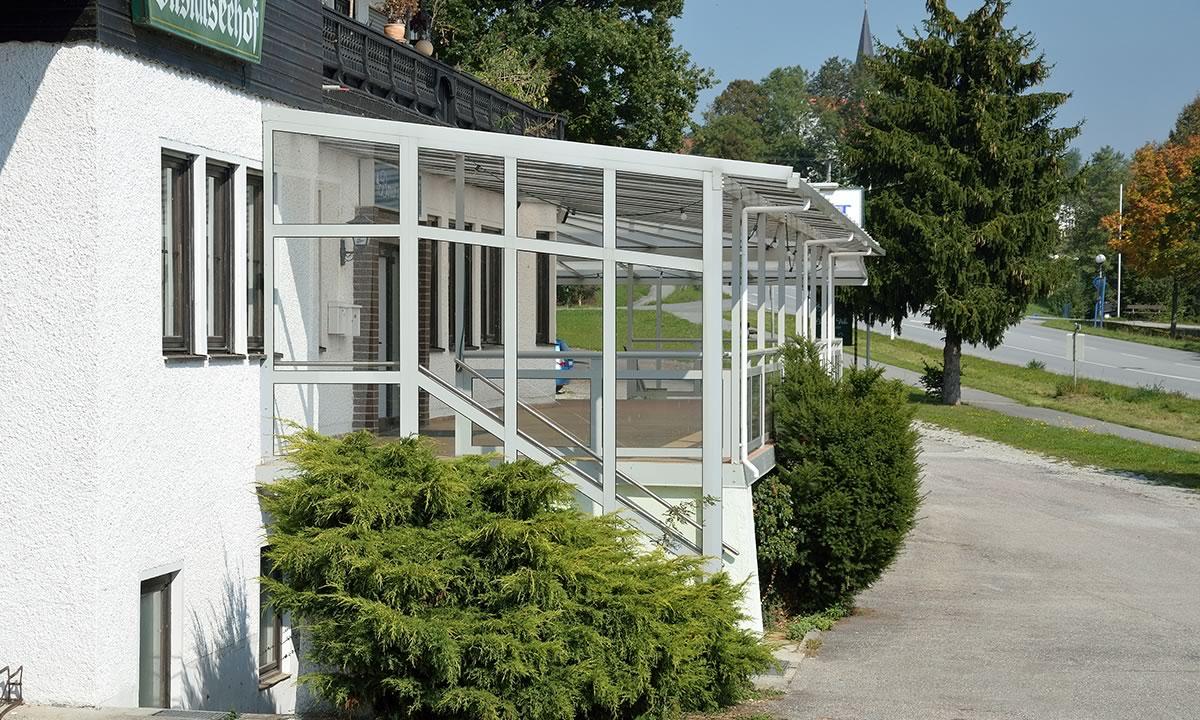TS-Aluminium Vordächer