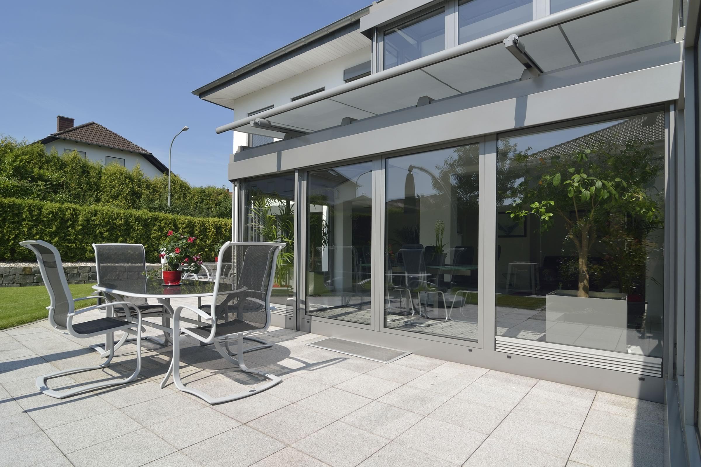 Aluminium Wintergarten 41
